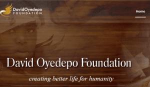 David Oyedepo Foundation OneWorld Merit Undergraduate Scholarships