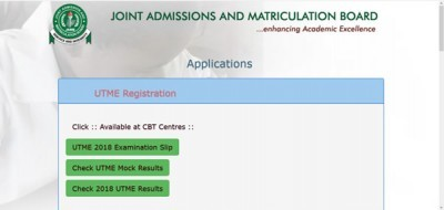 Jamb  UTME 2018 IS OUT CHECK YOUR'S NOW