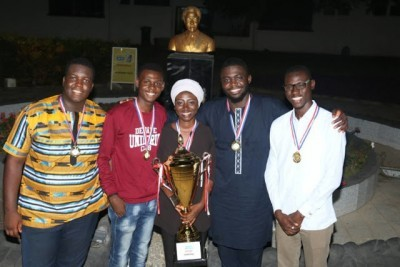 UNILORIN Debate Team Wins The First West African Debate Championship in 2018 at Ghana.
