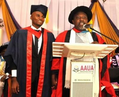 AAUA Best Graduating Student Receives N500,000 For Lunch From Gov. Rochas Okorocha