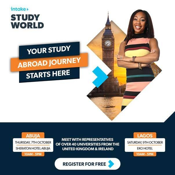 Your study abroad journey starts here - Register for free physical consultation with UK & Ireland university representatives