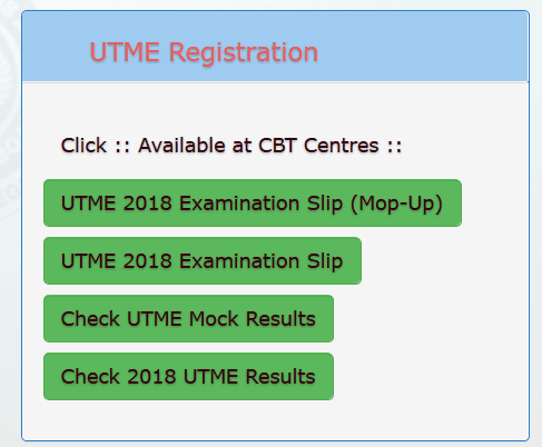 JAMB Mop-Up Results 2018 are out - Check & Share Results Here