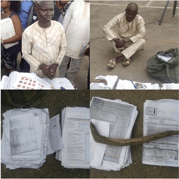 Pastor Who Operates Fake WAEC Centre Gets Arrested