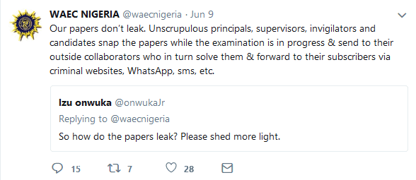 We Do Not Leak Exam Papers - WAEC