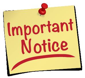 BSU notice on 2nd semester exam cards, 2019/2020