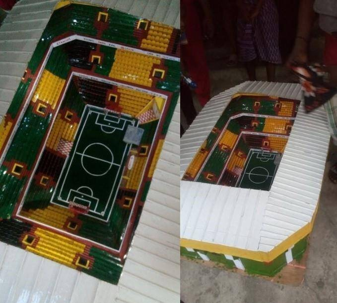JSS 2 Boy Constructs a Fully Equipped Stadium in Aba