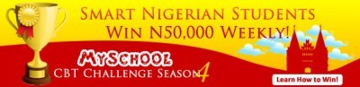 Myschool CBT Classroom Challenge Season 4 Begins - N150,000 Up for Grabs