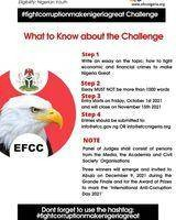 2021 EFCC Essay Competition For Young Nigerians