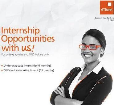 Guaranty Trust Bank Internship Programme