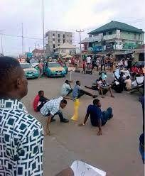 AAUA Students Protest Over School Fees Hike