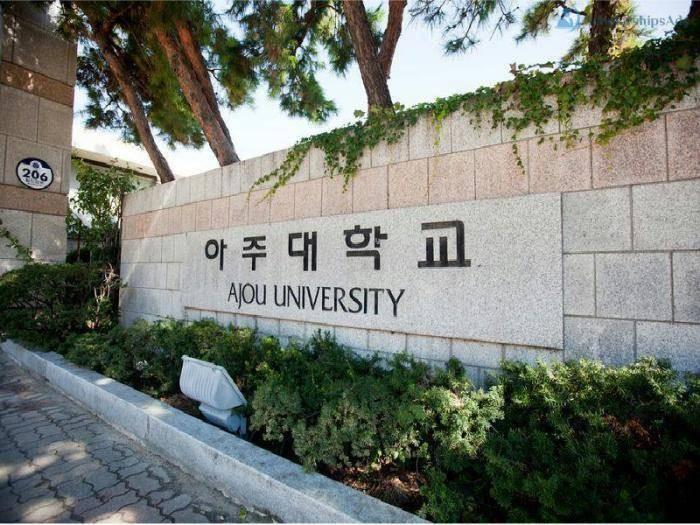 Foreign Freshman Scholarships at Ajou University, South Korea - 2022