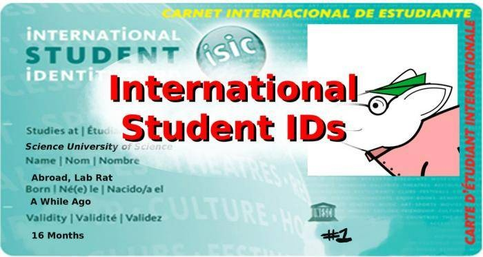 LASU Announces the Introduction Of International Student Identity Card ( ISIC )
