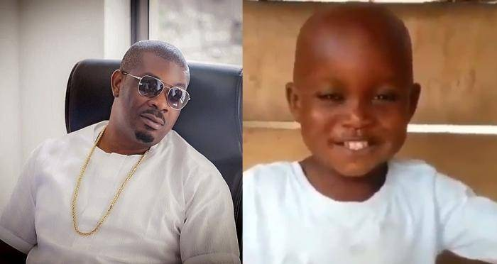Don Jazzy Pledges 500k to Send 5-year-old Kid in a Viral Video to School