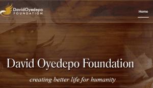 100% David Oyedepo Foundation Scholarships For Nigerians