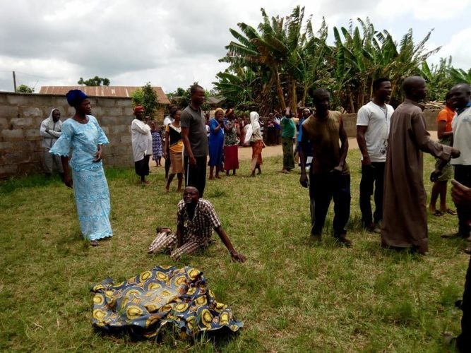 Uproar as Mentally Challenged Man Kills Two Pupils in Primary School at Ogun State