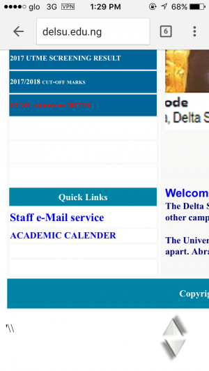 DELSU Admission List 2017/2018 Released