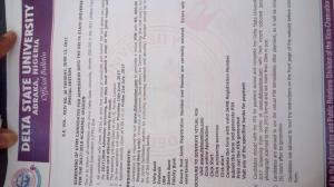 DELSU Admission Screening 2017: Eligibility, Cut-off mark and Registration Details