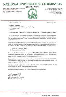 KSUSTA gets approval for MBBS and Nursing