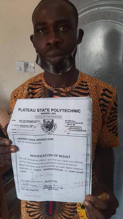 Police arrests fake corps member with a forged certificate
