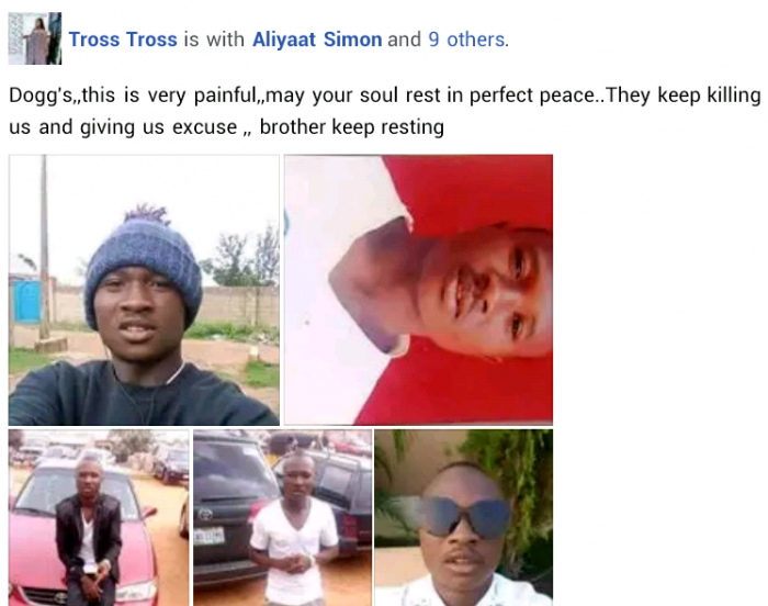Final Year Poly Student killed by Suspected Fulani Herdsmen