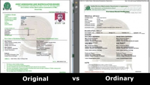 baceff6ab8 Jamb Result Slip Palava  To get the Original or not - Myschool