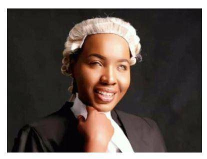 See Visually Impaired Lady Who Was Called to Bar Against All Odds
