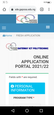 Gateway ICT Poly Post UTME 2021: Eligibility and Registration Details