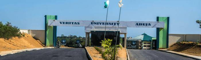 Veritas University Postgraduate Admission Form for 2021/2022 Session