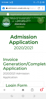 FUNAAB extends postgraduate application deadline, 2019/2020