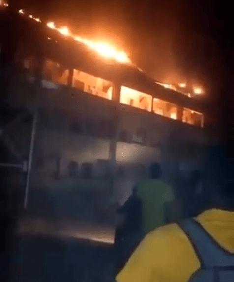 Fire Razes DELSU Post Graduate Hostel