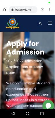 Bowen University Post-UTME/DE 2021: Eligibility, Screening and Registration Details