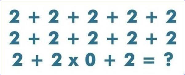 How Quick Can You Solve This Maths Puzzle?