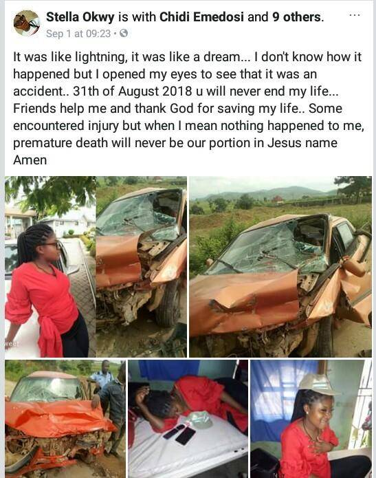 Female Corps Member Escapes Death Following a Fatal Accident