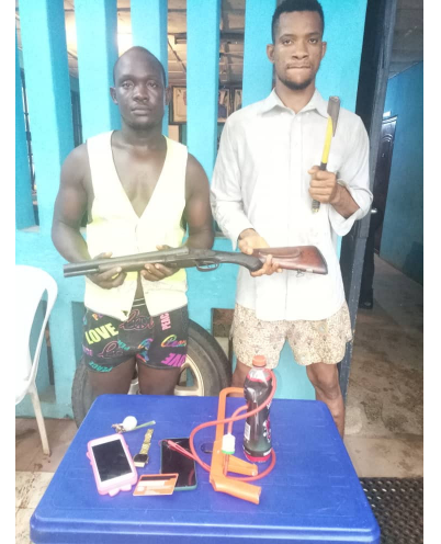 Nekede Polytechnic student arrested for alleged armed robbery