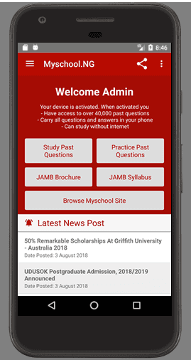 Upgrade Your Myschool App & Software For Post-UTME - It's Free