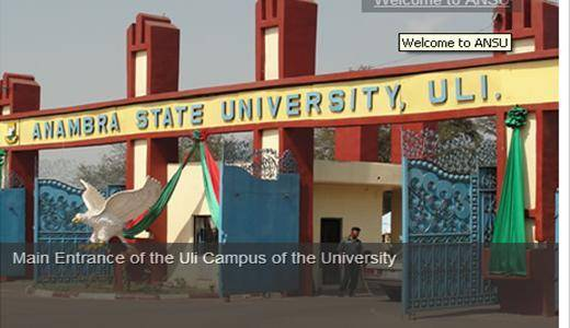 ANSU Admission List, 2018/2019 Out