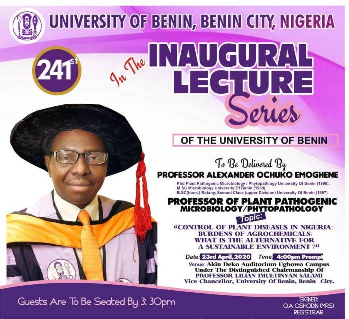 UNIBEN Lecturer dies After a brief Illness