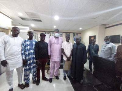 Osun Education Commissioner hosts student who scores 350 in 2021 UTME
