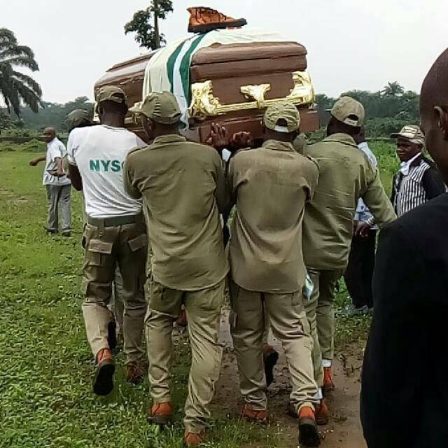 Serving Corps Member Who Drowned in Rivers State Buried