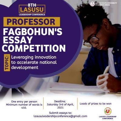 LASU students' Union announces 8th essay competition