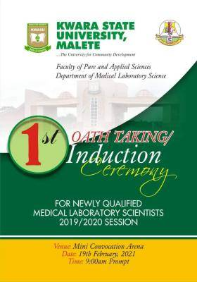 KWASU 1st Medical Laboratory scientist oath/Induction ceremony announced