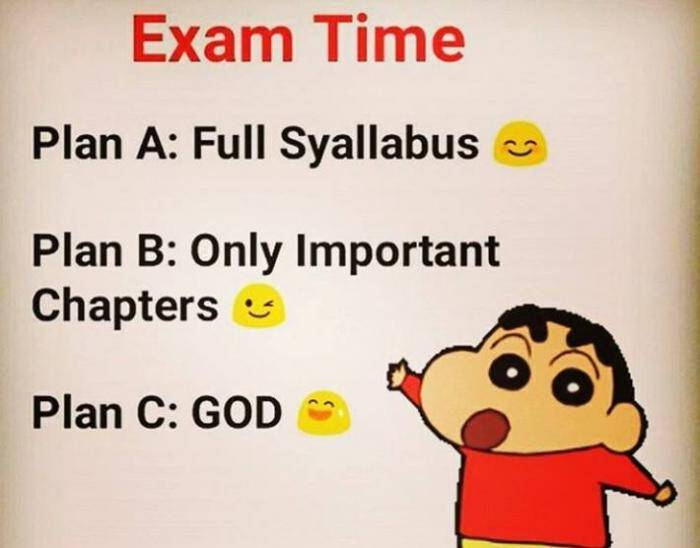Exams! Which Category Do You Fall In?