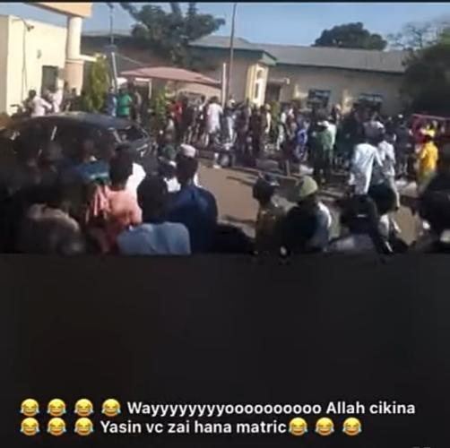 KASU students beat NDA cadets over a girl (video)
