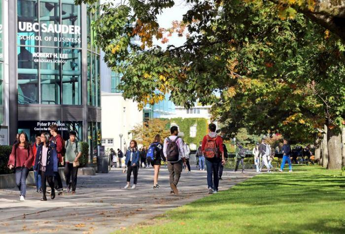 Hoegg Family International Scholarship 2022 at UBC Sauder School of Business – Canada