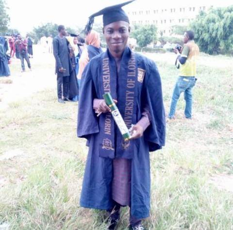 UNILORIN Student Breaks an Age Long Record as He Graduates with a 4.52 CGPA