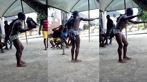 Student Who Was Caught Stealing Phones, Forced to Dance as He Receives Strokes