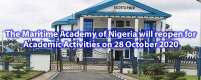 MAN Oron announces resumption of Academic Activities