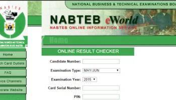 NABTEB Releases May/June 2018 Examination Results