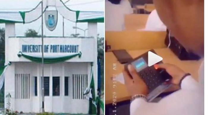 UNIPORT Introduces the Use of Biometric Device to Take Students' Attendance