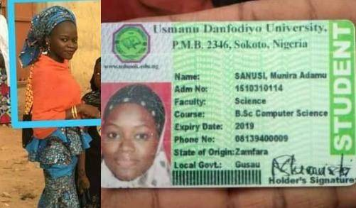 Final Year Student of Usman Dan Fodio University Dies in Fatal Accident